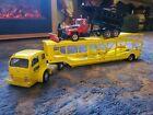 Danbury Mint  1952 White 3000 Tractor & Four Car Carrier /rare mack plowtruck