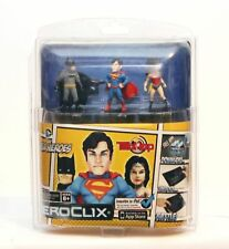 2012 DC COMICS SUPER HEROES  HEROCLIX SUPERMAN, BATMAN, WONDER WOMAN NEW