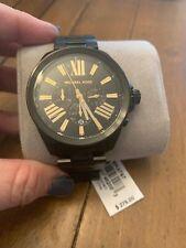 Michael Kors Men's Wren Black Chronograph Watch MK8767