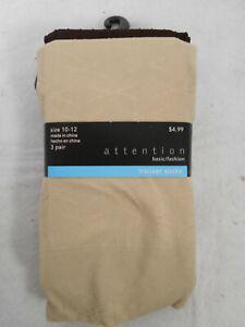 NEW 10 PACKS Trouser Socks QUEEN LOT of 30 PAIRS - BLACK,BROWN,TAN Size 10 -12