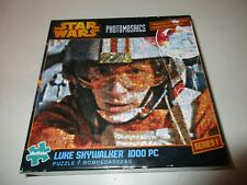 Buffalo Games Star Wars 1000 Piece Jigsaw Puzzle Luke Skywalker Includes Poster