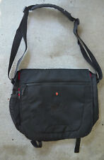 VICTORINOX Small MESSENGER Bag HORIZONTAL hang All Black NICE