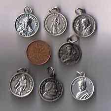 lot of 7 relic medal, kateri, sentia, pio, philomena, peregrin, john paul, andre