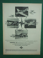 PUB AVION OMNIPOL PRAHA TCHECOSLOVAQUIE AIRCRAFT / CANADIAN APPLIED RESEARCH AD