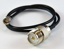 """COMET HS-10 39"""" ADAPTER CABLE, SMA MALE TOSO-239.FREE SHIPPING 3 YR WARRATY"""
