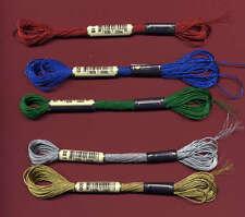 Anchor Lame Metallic Thread Red 318