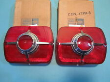 NOS 1965 Ford Fairlane Wagon Tail-light Lens Set
