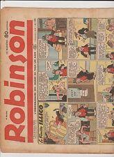 ROBINSON n°188 - 3 décembre 1939  - BE rousseurs