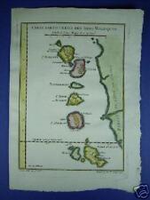 MALUKU ISLANDS  INDONESIA, Karte  Molukken MAP von 1750  REDUZIERT