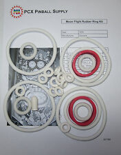 1976 Zaccaria Moon Flight Pinball Machine Rubber Ring Kit