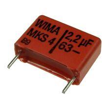 4 WIMA metallisierter poliestere canalizzatore mks4 63v 2,2uf 15mm 089832