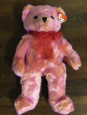 Ty Beanie Buddies Buddy 2000 ROUGE Teddy Bear Stuffed Animal Plush Bean Bag Toy