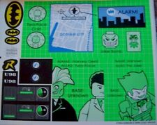 LEGO Batman Aufkleber / Sticker aus Set 7783 Batcave Invasion Penguin & Freeze