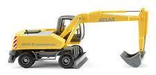WIKING H0 066103 Mobilbagger Atlas 2205 M Zinkgelb