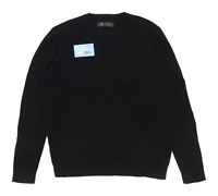 Label Lab Mens Size L Cotton Black Jumper