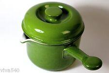 !!! Thomas Scandic grün Stieltopf Stielkasserole Keramik  !!!!