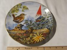 Rien Poortvliet Collector Plate Gnome Four Seasons The Berry Pickers. Summer.