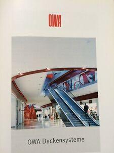 OWA Deckensysteme Architektur-Bau
