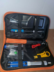 Anbes Soldering Iron Kit Temperature Welding Tool 60W Adjustable W/ATTACHMENTS