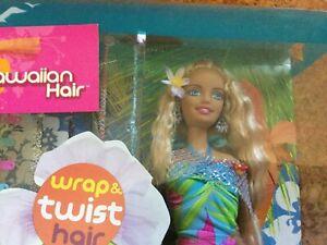 NEW Cali GIRL HAWAIIAN HAIR Barbie Doll