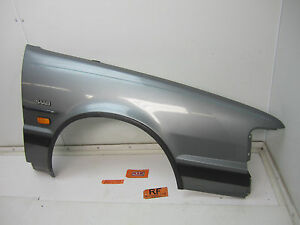 86-94 SAAB 9000 RIGHT FRONT FENDER SILVER PASSENGER RH R RF LIGHT MOLDING CAR OE