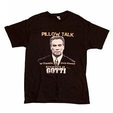Gotti Movie Shirt John Travolta Mens M Black Promo Pillow Talk Gangster