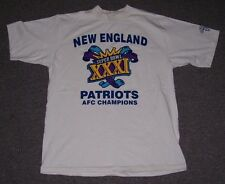 New England Patriots 1997 Super Bowl XXXl T-Shirt men's size-Large Cronin's Pub