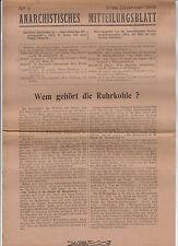 Anarchistisches Mitteilungsblatt 1948 Nr. 3