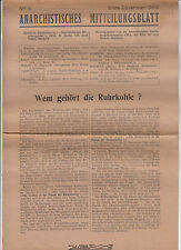 anarchistisches Boletín de información 1948 N º 3