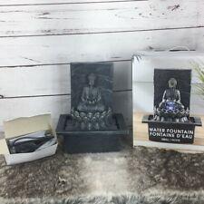 Ashland Silver buddha small desk Water fountain