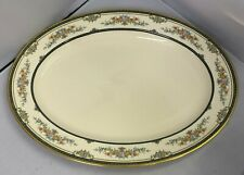 "Nice Minton Stanwood English Bone China Large 16"" Oval Meat / Serving Platter"
