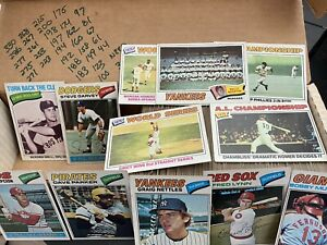 1977 Topps Baseball Lot (280 Cards)