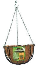 Panacea  Green  Steel  Hanging Basket