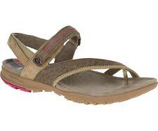 Flache Damen-Sandalen & -Badeschuhe aus Wildleder für die Freizeit