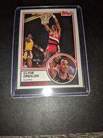 1992-93 Topps Archives #33 Clyde Drexler RC Pack Fresh Rare Mint