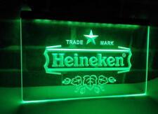 Heineken LED Neon Sign Bar Pub Man Cave UK Stock