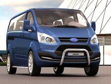 Frontbügel 60mm Ford Transit Tourneo Custom ab 2013 kompatibel mit Parksensoren