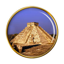 Pyramid, Mexico Pin Badge