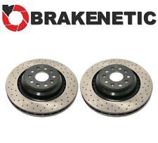 FRONT SET BRAKENETIC PREMIUM SLOTTED Brake Disc Rotors BNP44119.SS