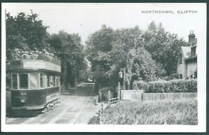 Photo  -NORTHDOWN , CLIFTONVILLE   TRAM.--    FROM COLLECTION    ref  706