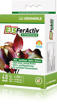 Dennerle E15 FerActiv Iron Fertilizer (40 pcs) for Aquarium Plants
