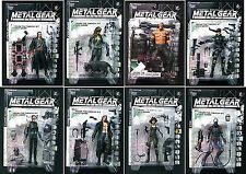 Metal Gear Solid 8 Figure set McFarlane Toys New 1999 Series 1 Snake Raven