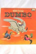 "Vintage 1965 Walt Disney's Dumbo: The Story and Songs 12"" 33 RPM Vinyl Record"
