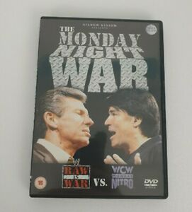 WWE THE MONDAY NIGHT WAR DVD SET (WWF/WCW) - GOOD CONDITION FREE POSTAGE