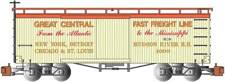 Bachmann-34' Wood Old-Time Boxcar - Ready to Run - Silver Series(R) -- New York