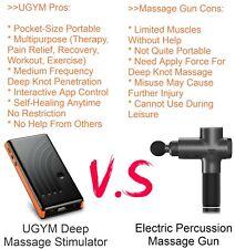 UGYM PRO Orange - Deep Tissue Body Massager Sport Recovery (VS Massage Gun)