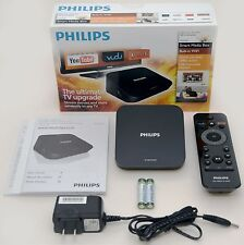 NEW Philips HMP2000/37 HD Smart Media Box HDTV HDMI 1080p netflix WiFi