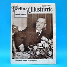 NBI 22/1955 DDR Thomas Mann Weimar Schiller-Ehrung Streik Genua Atomkraft
