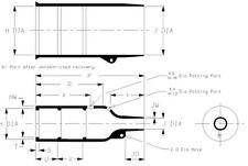 202K121-25-0 Raychem/TE Molded Heat Shrink Boot Motorsport Wiring Haltech MoTeC