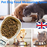 Portable Pet Dog Cat Food Measuring Spoon Scale Cup Weighing Feeding Bowls UK